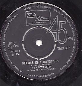 The Velvelettes - Needle In A Haystack / He Was Really Saying Somethin'