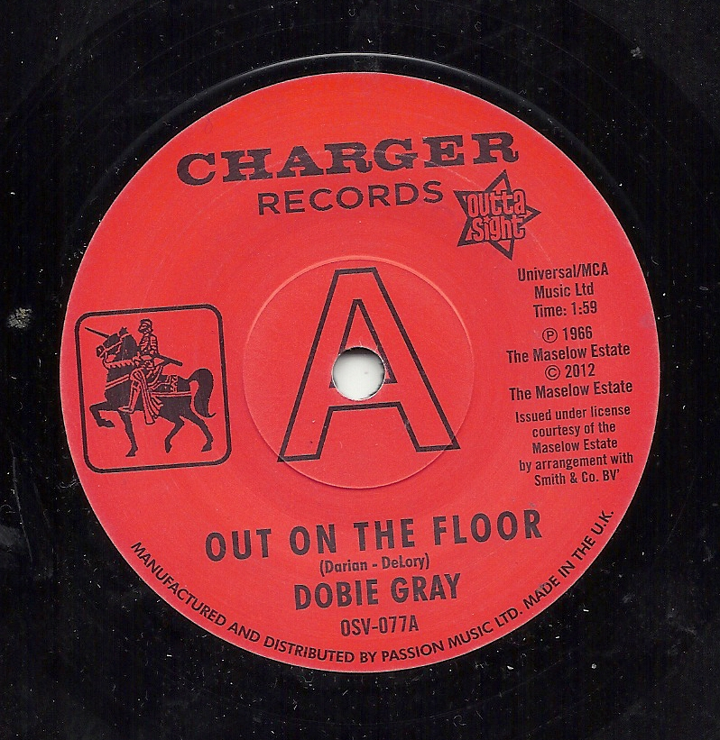 Chapman records northern soul mod ska and motown for Out on the floor dobie grey
