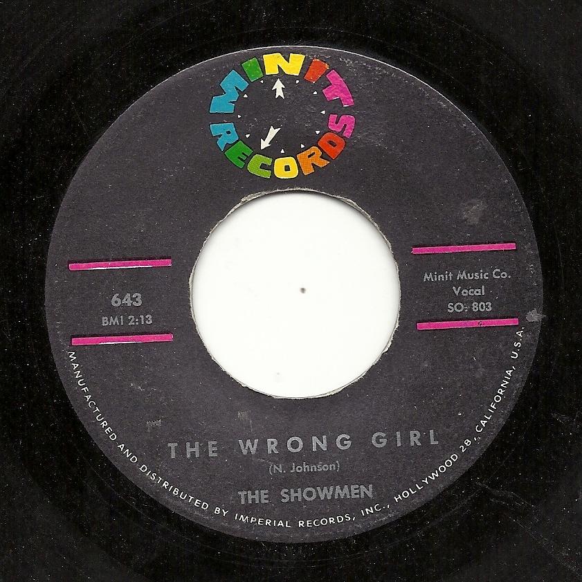 Showmen The Wrong Girl
